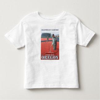 Moosbeersumpf-Ernte - Gurren-Bucht, Oregon Kleinkinder T-shirt