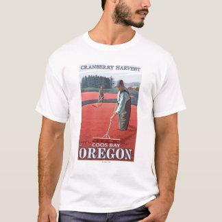 Moosbeersumpf-Ernte - Gurren-Bucht, Oregon T-Shirt