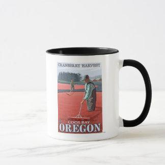 Moosbeersumpf-Ernte - Gurren-Bucht, Oregon Tasse