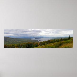Mooselookmeguntic See-Panorama, Maine Poster