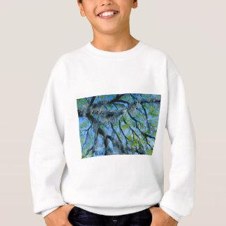 Moosige Eichen-Glieder Louisianas Sweatshirt