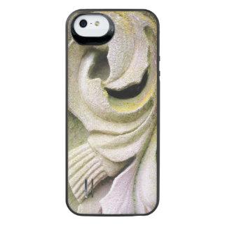 Moosiges Stein-Blätter iPhone SE/5/5s Batterie Hülle