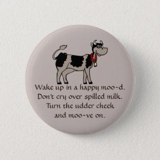 Moove auf Knopf Runder Button 5,7 Cm