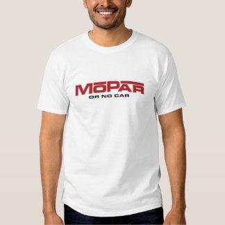 MoPar oder kein Auto T-Shirts