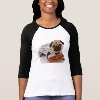 Mops-Baseball-T - Shirt