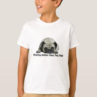 Mops-Clown am Herzen scherzt UnisexShirt T-Shirt