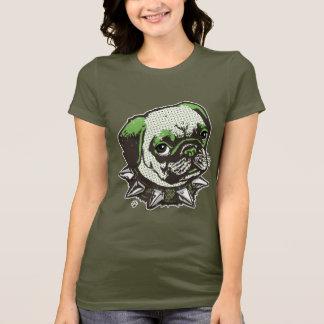 Mops-großer Punkt T-Shirt