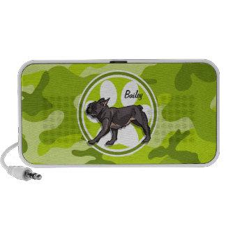 Mops hellgrüne Camouflage Tarnung PC Lautsprecher