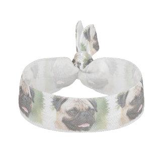 Mops-Hund Haarschleife