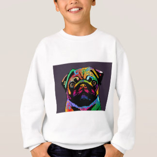 Mops-Hund Sweatshirt