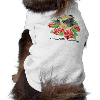 Mops-Leben-cooles Tätowierungs-Art-Shirt für Ihren Top