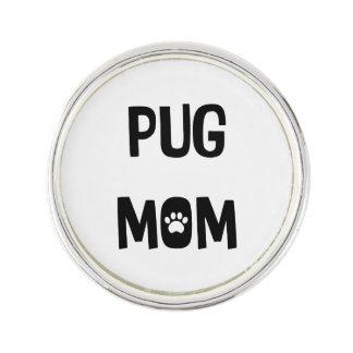 Mops-Mamma Anstecknadel