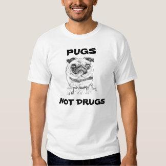 Mops-nicht Drogen Tshirt