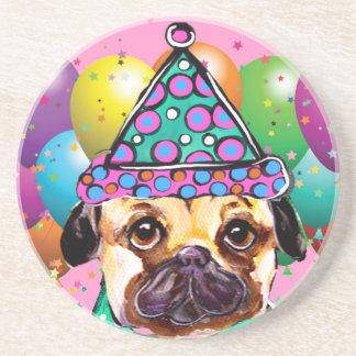 Mops-Party-Hund Getränkeuntersetzer