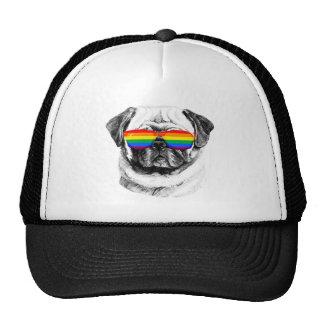 Mops-Stolz-Sonnenbrillen Trucker Mütze
