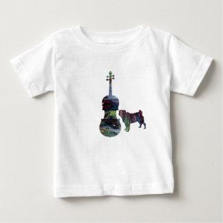 Mops und Viola Baby T-shirt