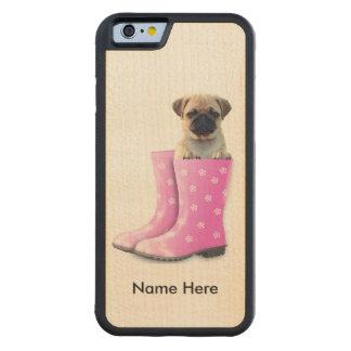 Mops-Welpe Bumper iPhone 6 Hülle Ahorn