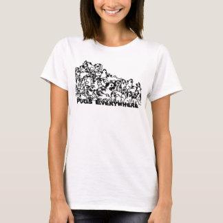 Möpse überall T-Shirt