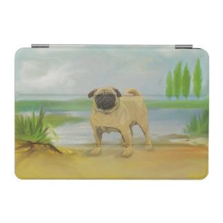 Mopshund durch die Flusskunst iPad Mini Hülle