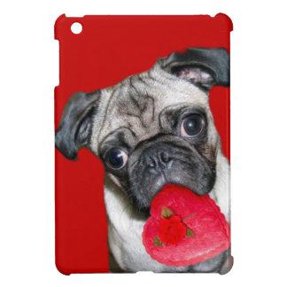 Mopshundipad des Valentines Minifall iPad Mini Hülle