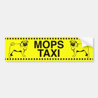 Mopstaxi Autoaufkleber