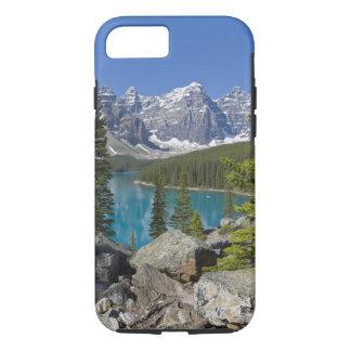 Moraine See, Kanadier Rockies, Alberta, Kanada iPhone 8/7 Hülle
