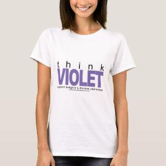 Morbus Hodgkin denken Veilchen T-Shirt