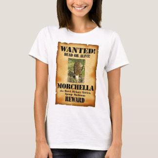 Morchel - gewolltes Plakat T-Shirt