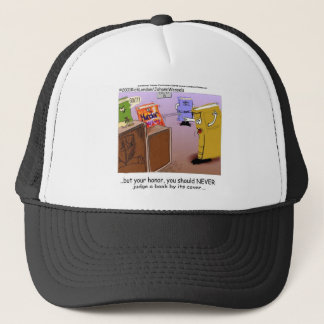 Mord-Geheimnis-Gerichtssaal-Drama-lustige T-Shirts Truckerkappe