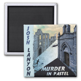 Mord im Pastellmagneten Quadratischer Magnet