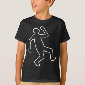 Mord-Opfer-Kontur T-Shirt