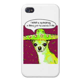 Mörder-Chihuahua iPhone 4 Cover