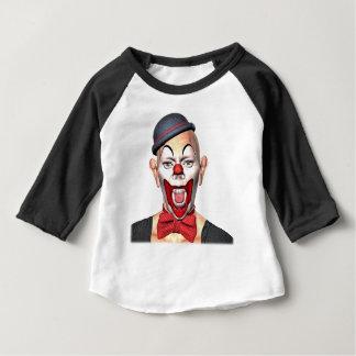 Mörder-Clown, der zur Front schaut Baby T-shirt