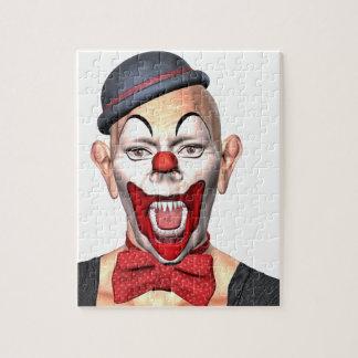 Mörder-Clown, der zur Front schaut Puzzle