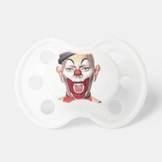 Mörder-Clown, der zur Front schaut Schnuller
