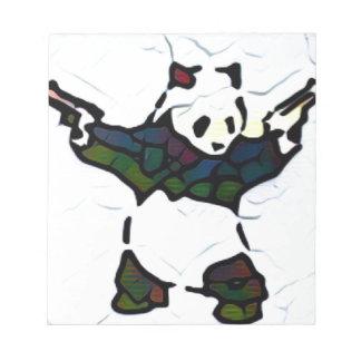 Mörder-Panda Notizblock
