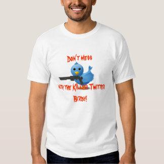 Mörder-Twitter-Vogel-T - Shirt