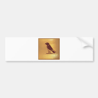 MÖRDER Vögel Autoaufkleber