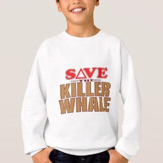 Mörder-Wal retten Sweatshirt