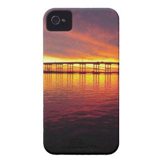 Morehead Stadt-Brücke am Sonnenuntergang iPhone 4 Hülle