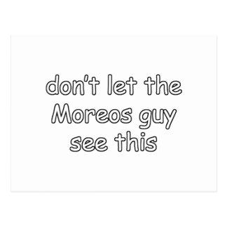 Moreos Postkarte