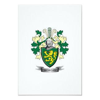 Morgan-Familienwappen-Wappen 8,9 X 12,7 Cm Einladungskarte