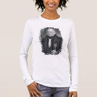 Morgan Lewis, graviert durch Asher Brown Durand Langarm T-Shirt