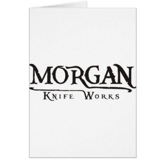 Morgan-Messerarbeiten Karte