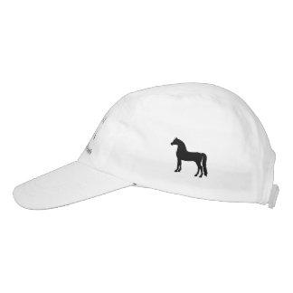 Morgan-Pferdehut Headsweats Kappe