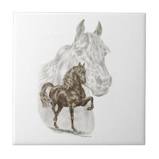 Morgan-Pferdekunst Fliese