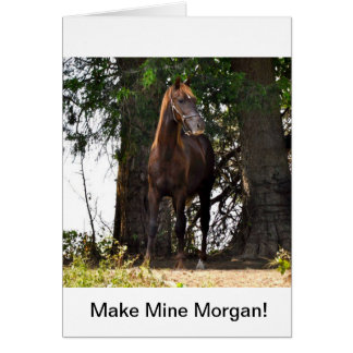 Morgan-Pferdeprodukte!! Karte