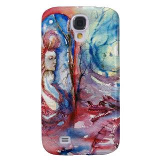 MORGANA/Magie und Geheimnis, rosa blaue Fantasie Galaxy S4 Hülle