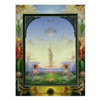 Morgen, 1808 postkarte