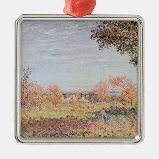 Morgen Alfred Sisleys   September Silbernes Ornament